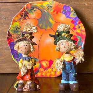 Other - Bobblehead Scarecrow Set autumn home decorations